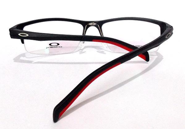 249a4a776f1e4 Armação Óculos De Grau Metal Masculino Retangular Oa2860 - R  115,00 ...