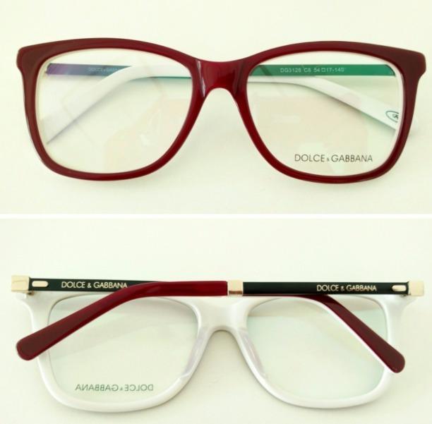 981e4d0d99975 Armação Óculos De Grau Modelo Dg3126 Acetato Todas As Cores - R  120 ...