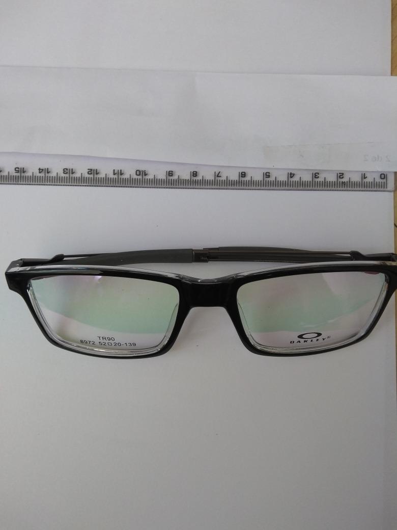 efffdaed92120 Armação Óculos De Grau Nova Oakley - R  20,00 em Mercado Livre