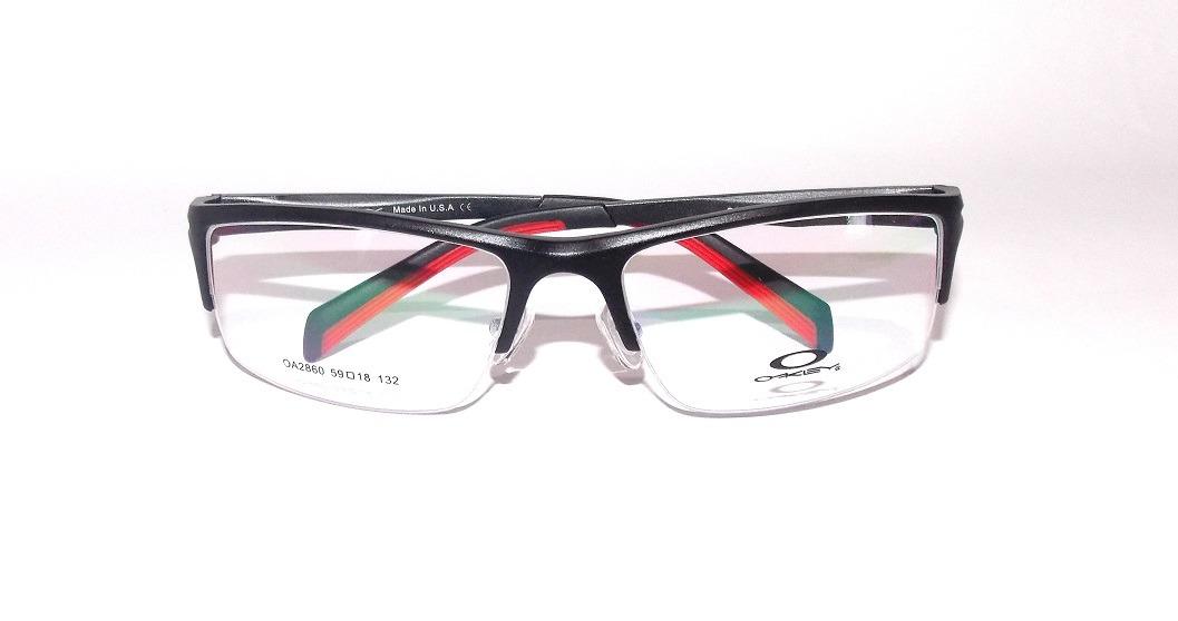 b9130e4a3c7e7 armação óculos de grau oa2860 preto acetato masculino barato. Carregando  zoom.