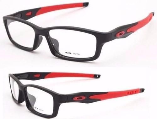 Armação Óculos De Grau Oakley Crosslink Muffler Crosshair - R  115 ... 845d99d95f