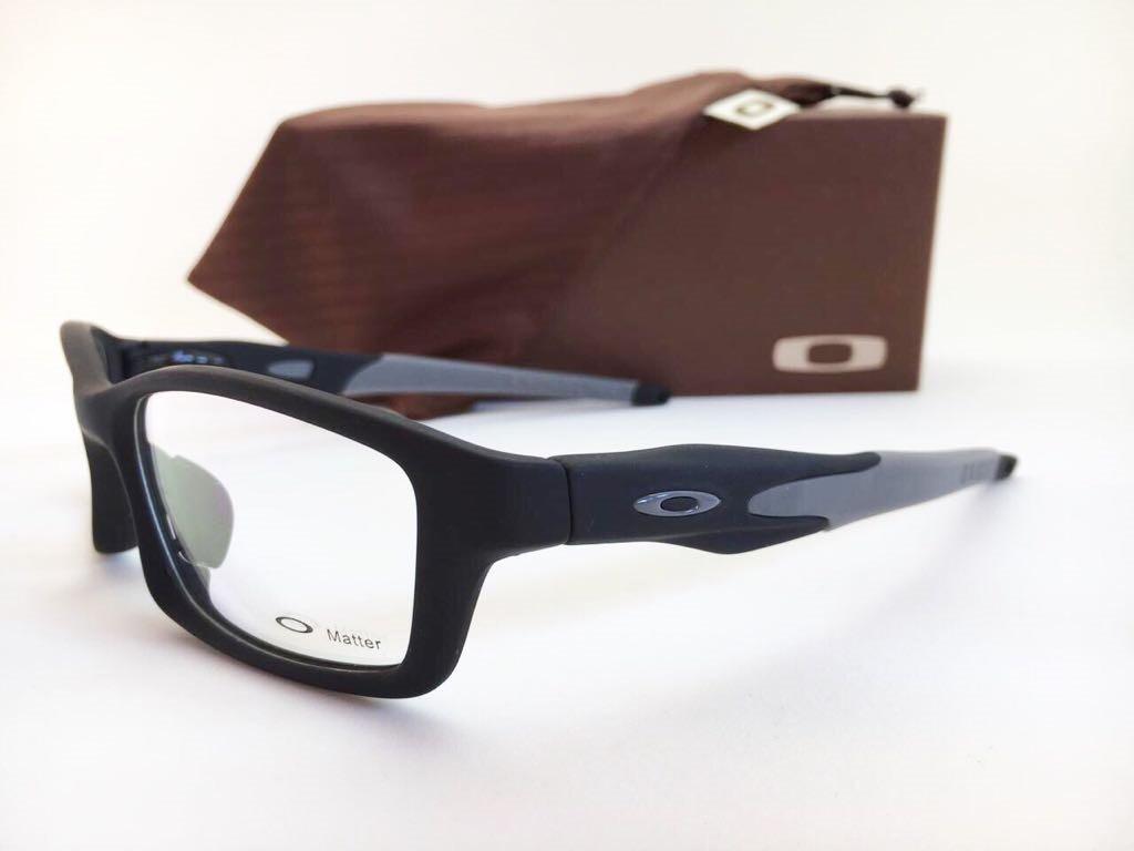 armação óculos de grau oakley crosslink original frete grati. Carregando  zoom. c6cbad0581