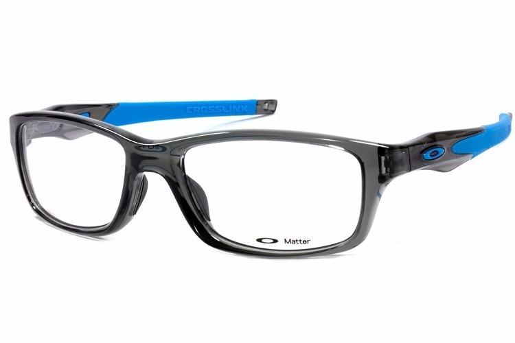 e8d94b39b Armação Óculos De Grau Oakley Crosslink Ox8030 0855 Original - R ...