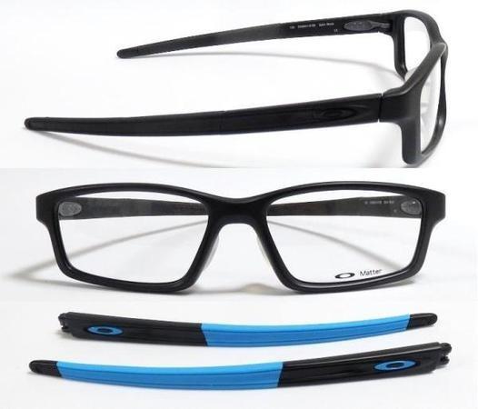 df3d7f7806a09 Armação Óculos De Grau Oakley Crosslink Pitch Troca Hastes - R  262,00 em