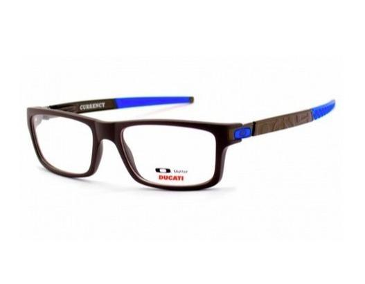 Armação Oculos De Grau Oakley Currency A Pronta Entrega - R  33,00 ... bde3552a31