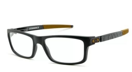 Armação Oculos De Grau Oakley Currency Varias Cores - R  38,00 em ... fabf6f2260