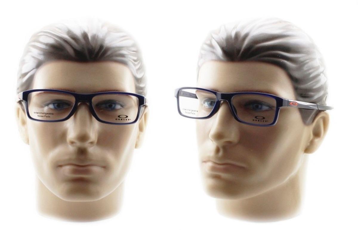 armação óculos de grau oakley oph. chamfer mnp ox8089 04 54. Carregando  zoom. 29f9e3e7ee