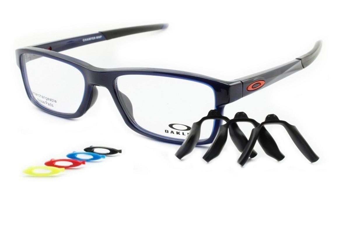 armação óculos de grau oakley oph. chamfer mnp ox8089 04 54. Carregando  zoom. b306f06224