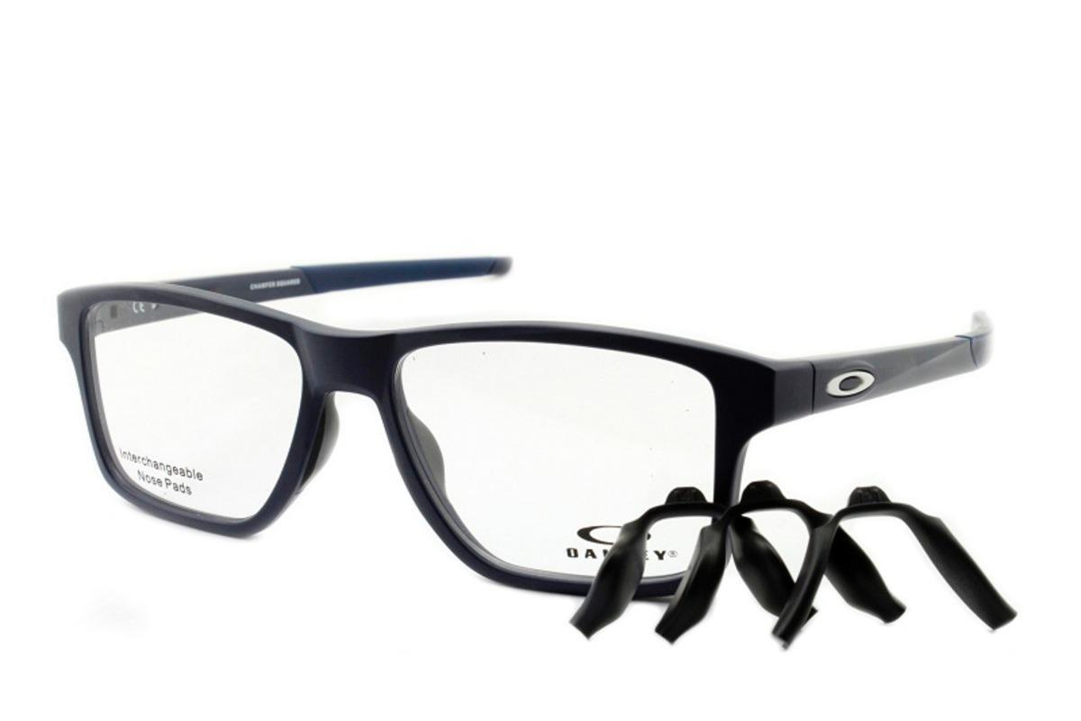 armação óculos de grau oakley oph. chamfer squared universe. Carregando  zoom. 2978fdb4b2