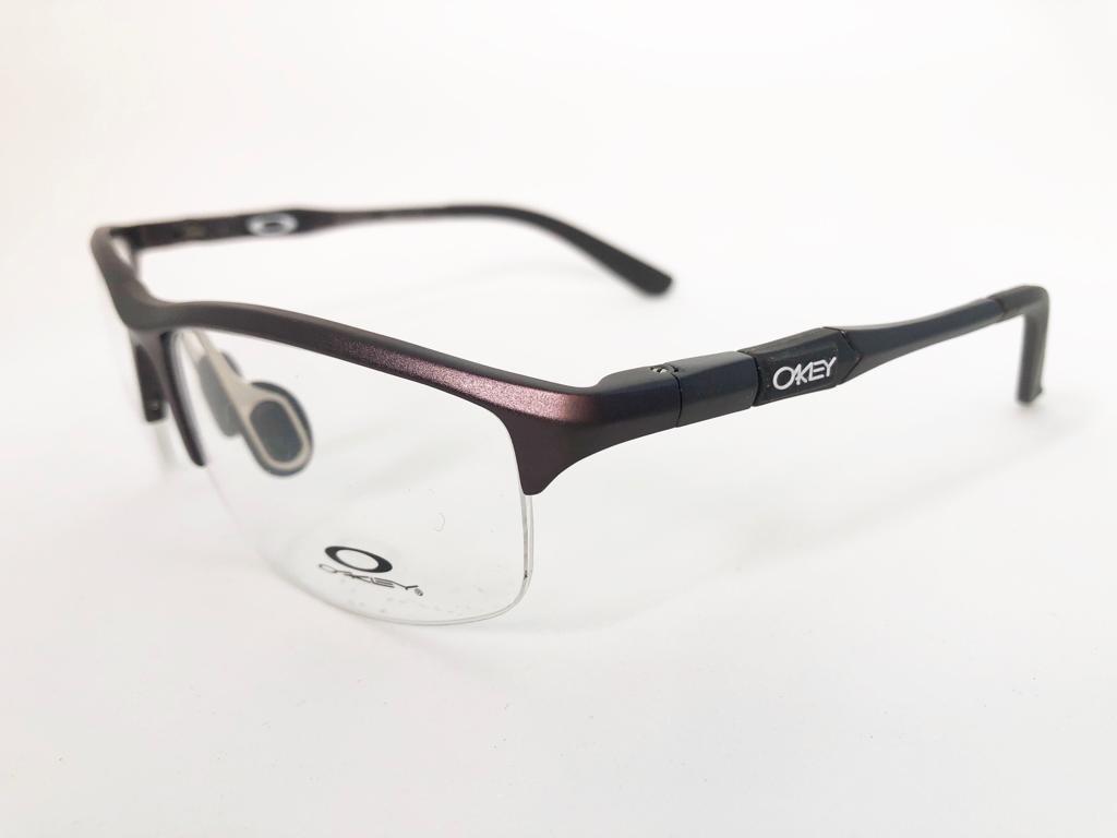 468c909c3 armação oculos de grau oakley sport alumínio frete gratis. Carregando zoom.
