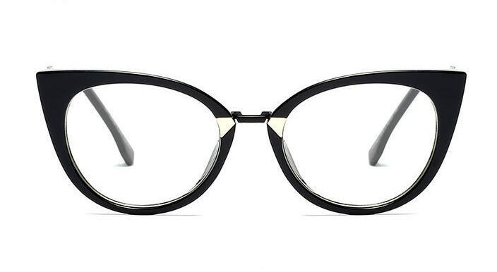 71fb9e598fad8 Armação Óculos De Grau Olho De Gato Elegante Chique 2018 - R  79,90 ...