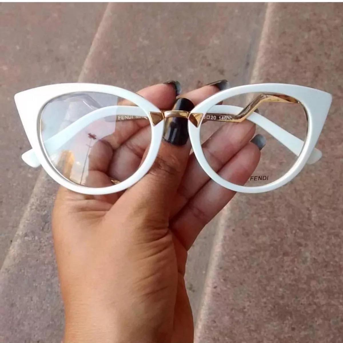 49f7ccb5d armação óculos de grau olho de gato elegante chique 2018 top. Carregando  zoom.