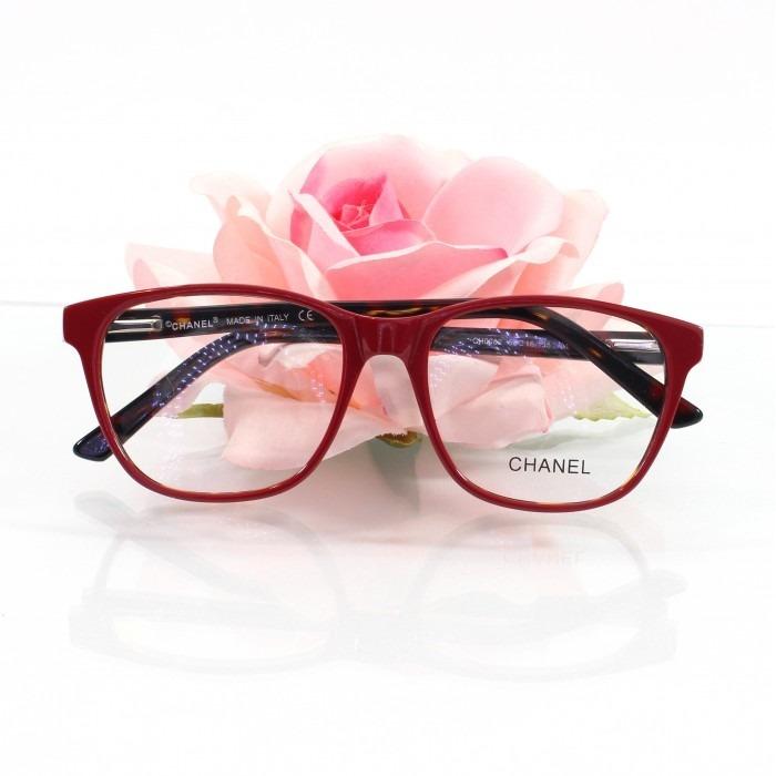Armação Oculos De Grau Para Grau Ch3582 Emilly Bbb Acetato - R  120 ... 7cea41bb22