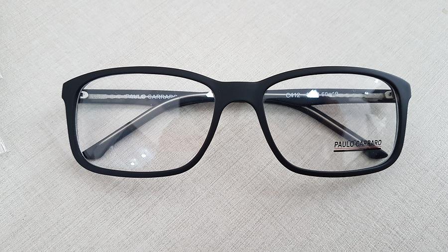 c226133372ea7 armação óculos de grau para rosto grande tamanho 60 - 1718. Carregando zoom.