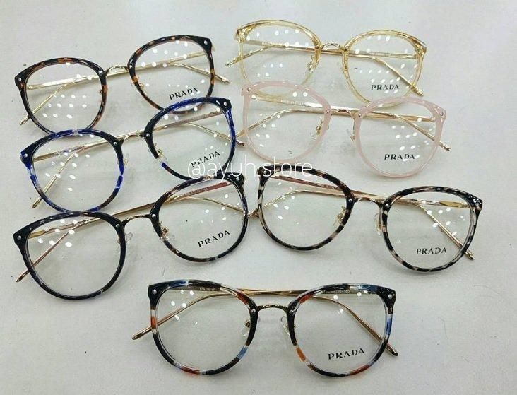 d0ce329db1c9d Armação Oculos De Grau Prada Luxo Original Feminino Promoção - R  90 ...