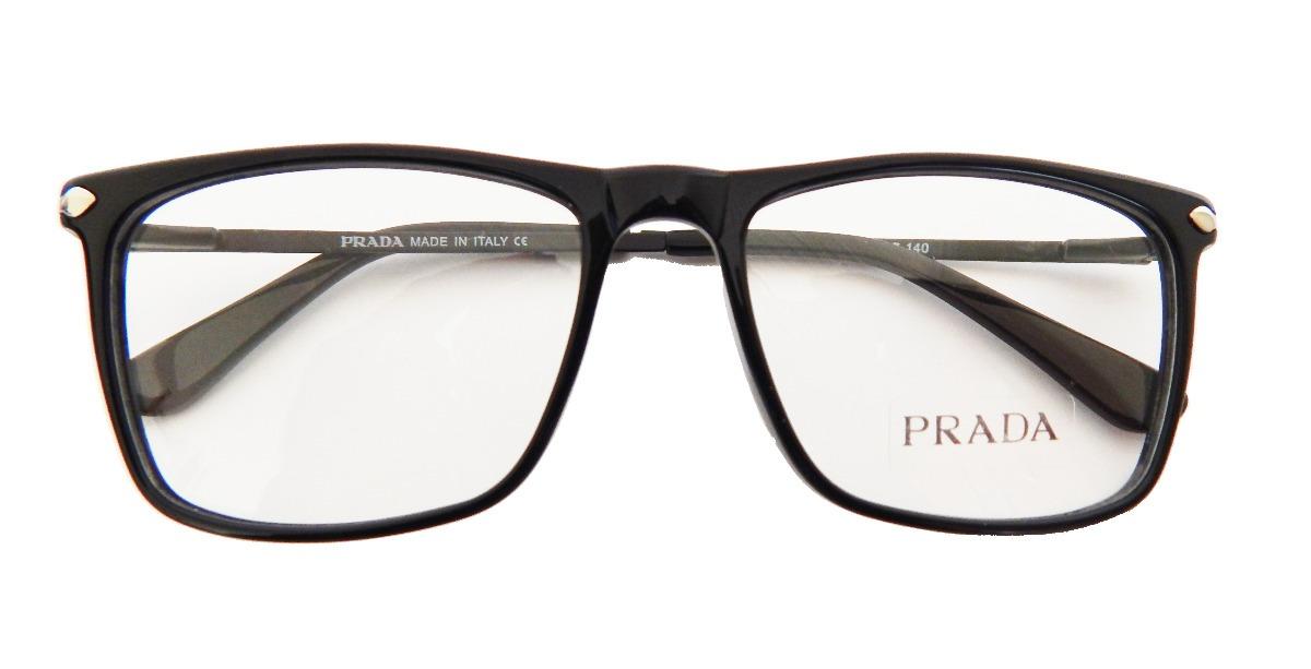 a69858979d978 armação óculos de grau prada po3170 masculino - original. Carregando zoom.