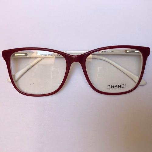 da90be659c7f0 Armação Óculos De Grau Quadrada Cor Vermelha Nova - R  120