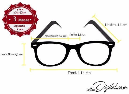 fdd0dfaf3 Armação Óculos De Grau Quadrada Grande Preto Feminino Mba044 - R$ 99 ...
