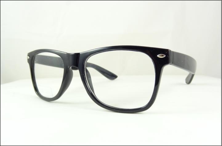63ef4a370a7c9 Armação Oculos De Grau Quadrada Preta Lentes Sem Grau - A441 - R  49 ...