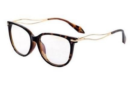 80bd8cc4d2549 Armação Óculos De Grau Quadrado Gatinho Médio Feminino Xa - R  107 ...