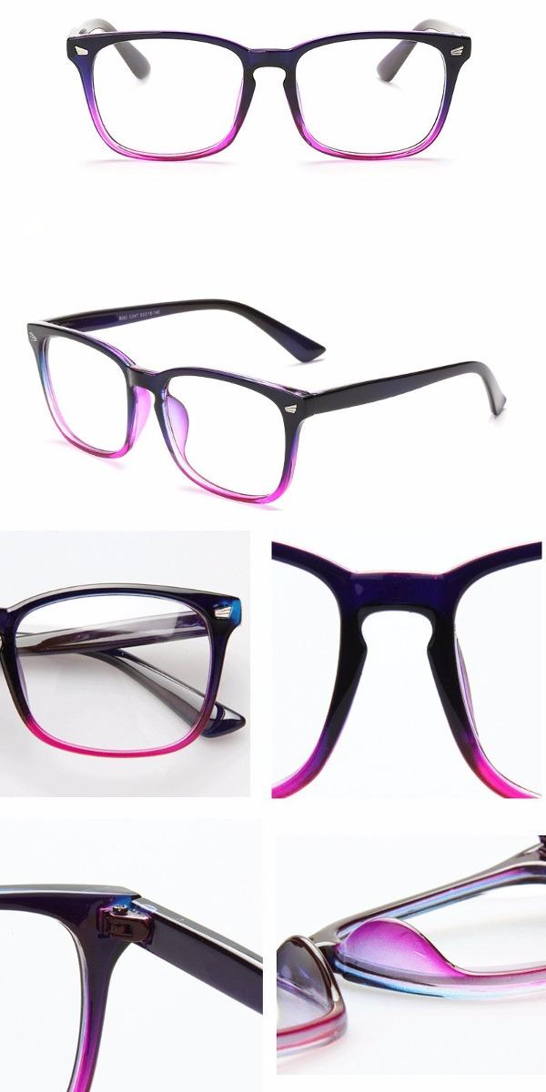 armação óculos de grau quadrado grande masculino feminino bt. Carregando  zoom. 6ae7c2c558