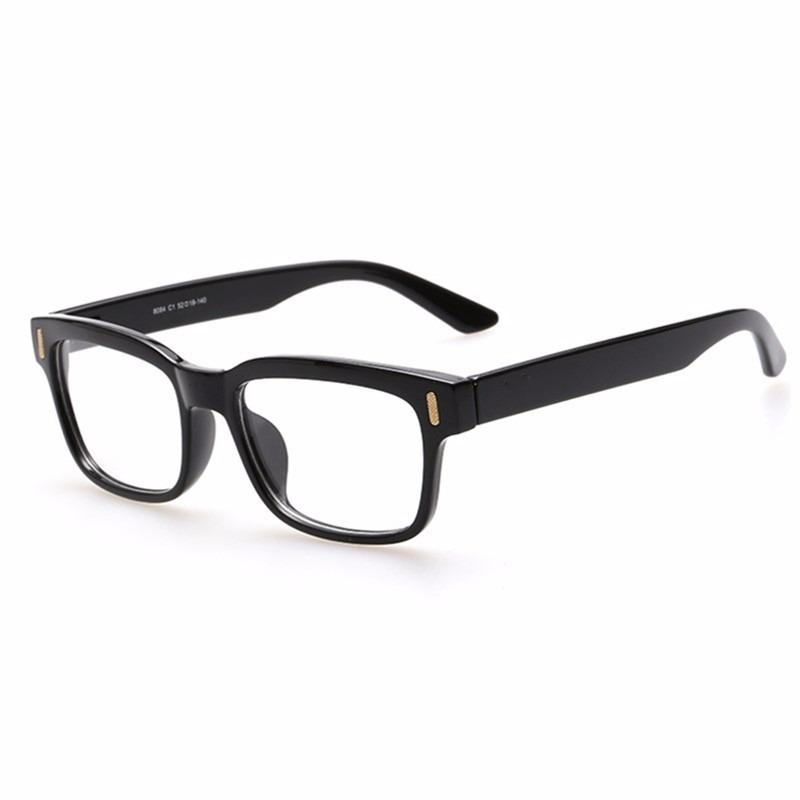 fe29bd502 armação óculos de grau quadrado grande masculino feminino ca. Carregando  zoom.