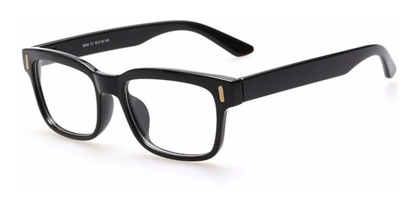 3e5ad4d12 Armação Óculos De Grau Quadrado Grande Masculino Feminino Ca - R$ 39 ...
