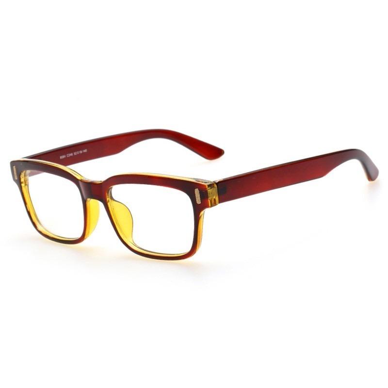 armação óculos de grau quadrado grande masculino feminino ca. Carregando  zoom. 9a1056afbe