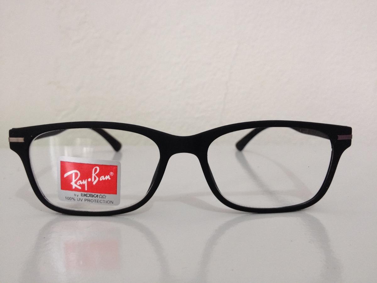 armação óculos de grau ray-ban 1ª linha unissex preto fosco . Carregando  zoom. fc79c947d8