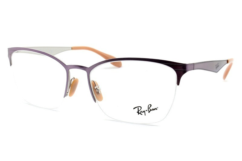armação óculos de grau ray-ban feminina rb6345 2918 tam. 54. Carregando  zoom. d181c163ef