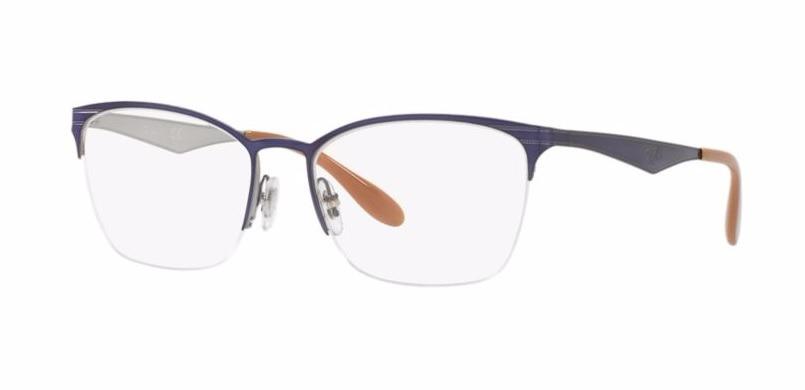 Armação Óculos De Grau Ray Ban Rb 6345 2918 - Original - R  370,00 em  Mercado Livre 3907d3ea53