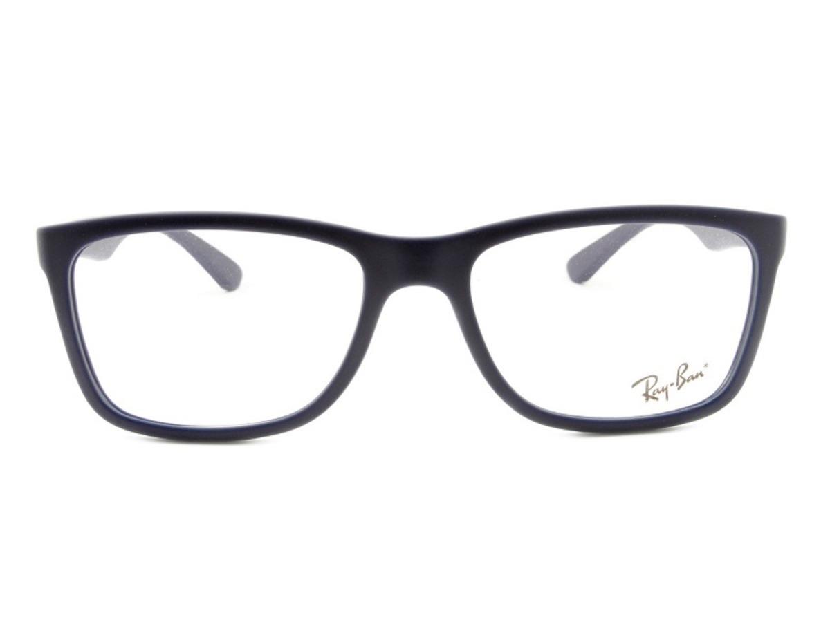 2314affd8 Armação Óculos De Grau Ray-ban Rb 7027l 5412 Tamanho Grande - R$ 299,00 em  Mercado Livre