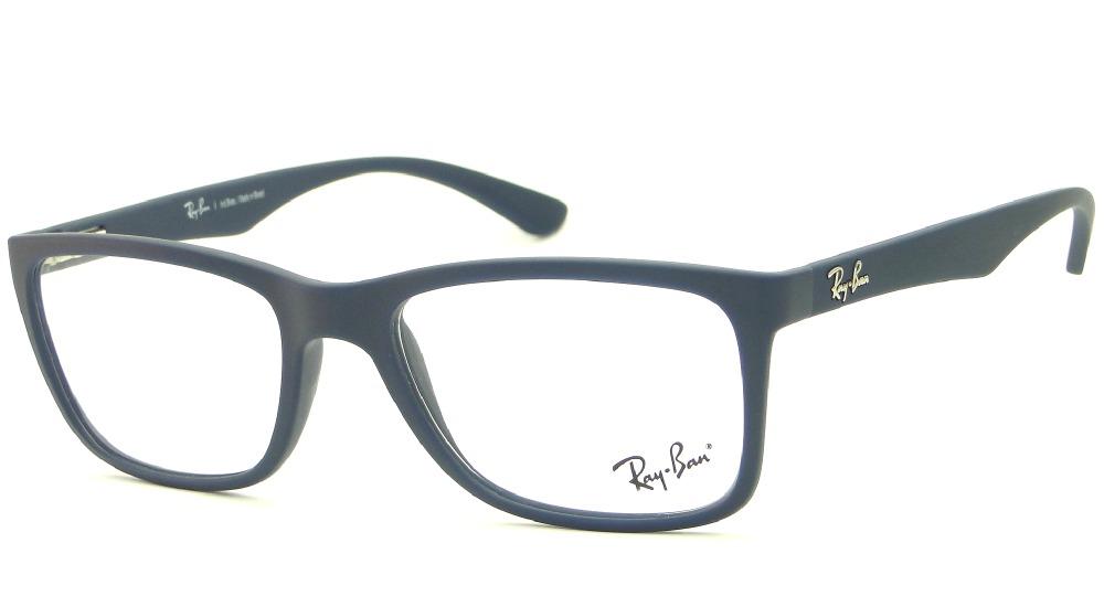 269909565984b armação óculos de grau ray ban rb 7027l azul retrô masculina. Carregando  zoom.