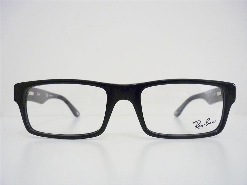 52c717df4f Armação Óculos De Grau Ray-ban Rb5202 5213 Preto Tartaruga - R  219 ...