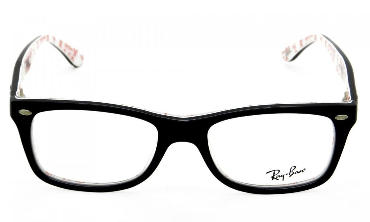 bf84015b7 Armação Óculos De Grau Ray-ban Rb5228 5014 - R$ 368,00 em Mercado Livre