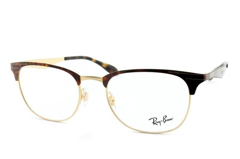 56d4d5b313d2a armação óculos de grau ray-ban rb6346 2917 tam 52 original. Carregando zoom.