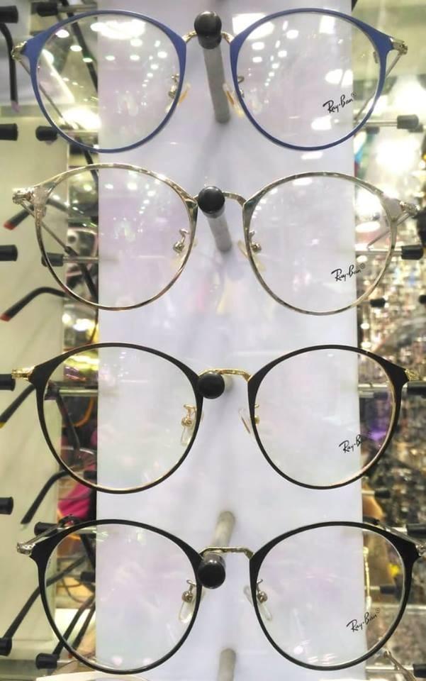 8f99c8782d3d8 Armação Óculos De Grau Ray Ban Rb6378 Redondo - R  239,90 em Mercado ...