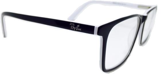 9b3caa155 Armação Óculos De Grau Ray Ban Varios Modelos Rayban Novo - R$ 105 ...