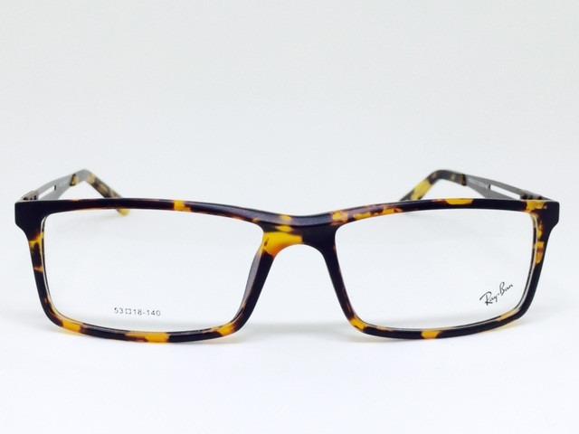 4518de01e Armação Óculos De Grau Ray Ban Varios Modelos Rayban Novo - R$ 108 ...