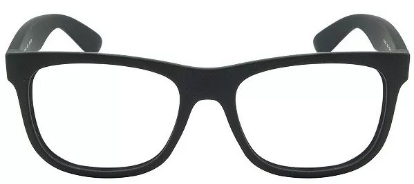 f9300a6d509b0 Armação Óculos De Grau Rayban Masculino Justin 4165 - R  70
