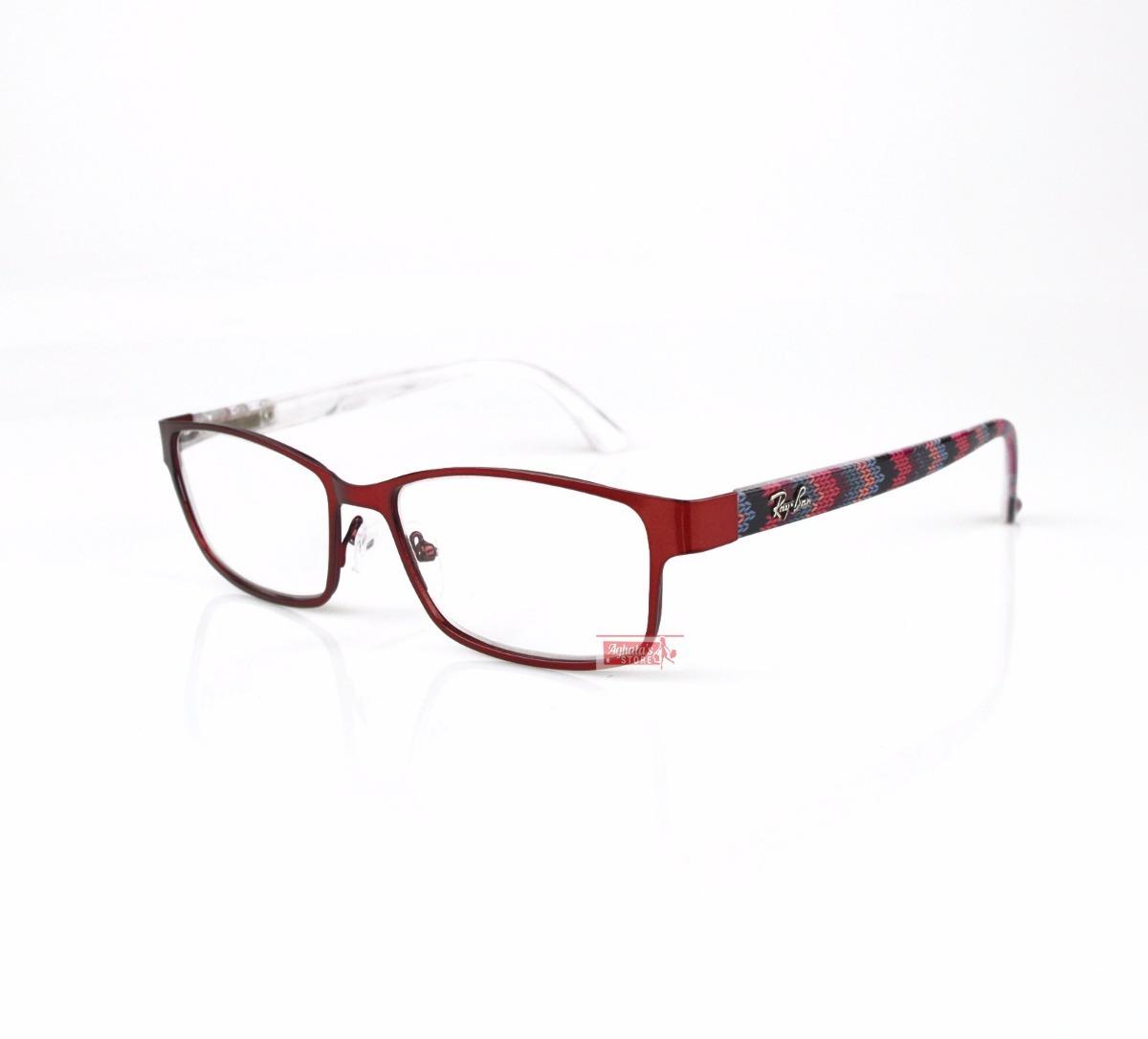 685120666e245 armação óculos de grau rayban metal prmoção unissex rb1371. Carregando zoom.