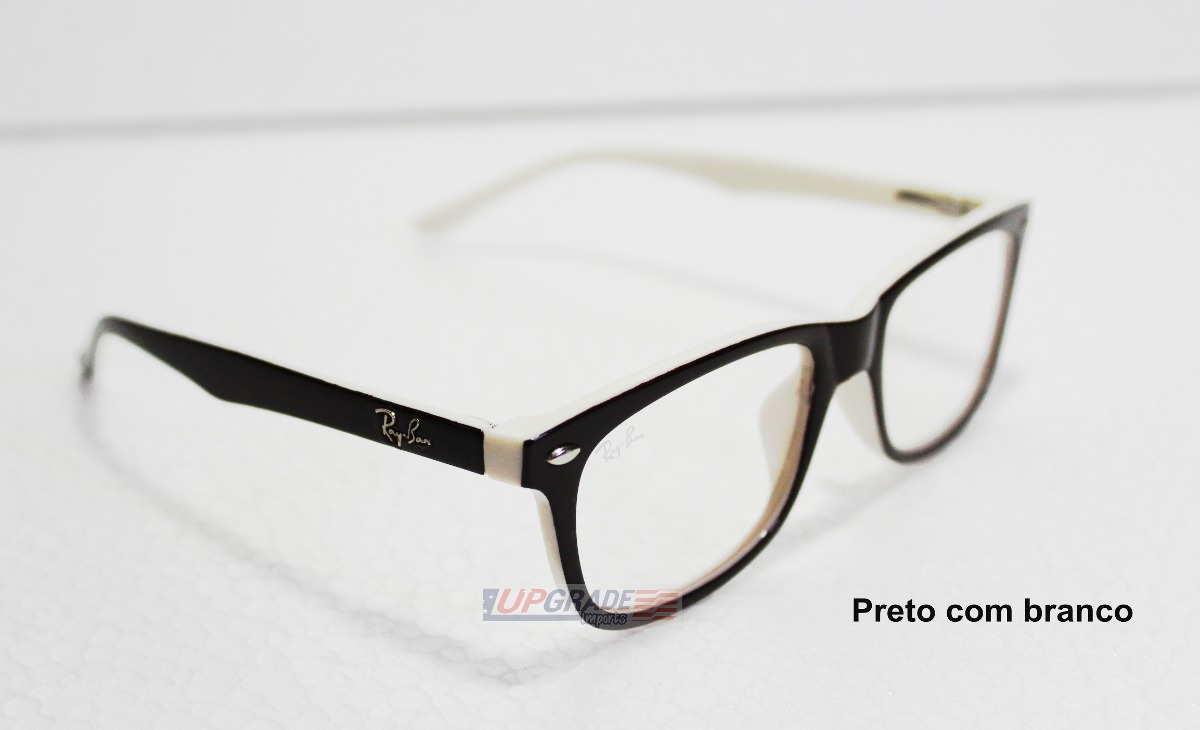 a295f7f21a396 armação oculos de grau rayban rb5228 masculino feminino. Carregando zoom.