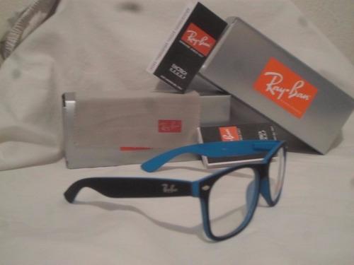 d28c3d3037d28 Armação Óculos De Grau Rayban Wayfarer Masculino Feminino - R  69