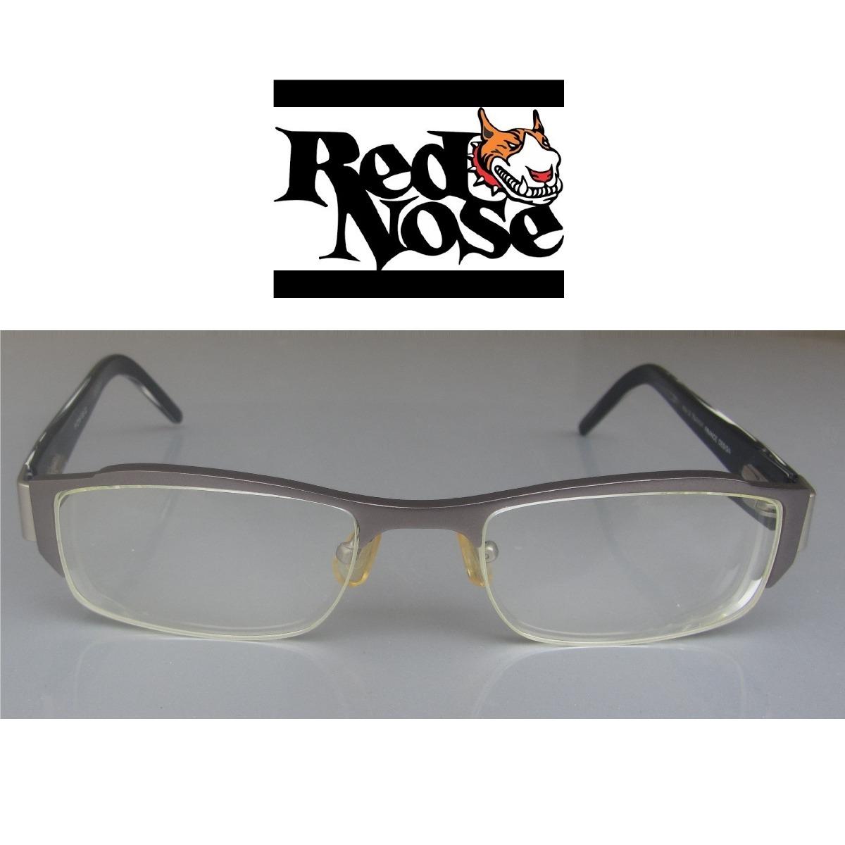 armação óculos de grau red nose preto e grafite masculino. Carregando zoom. 9180920f33