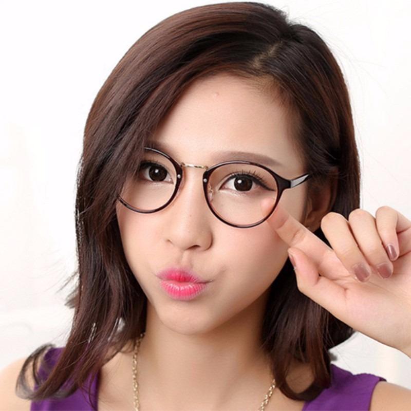 b063cb7b1 armação óculos de grau redonda masculino feminino geek retrô. Carregando  zoom.