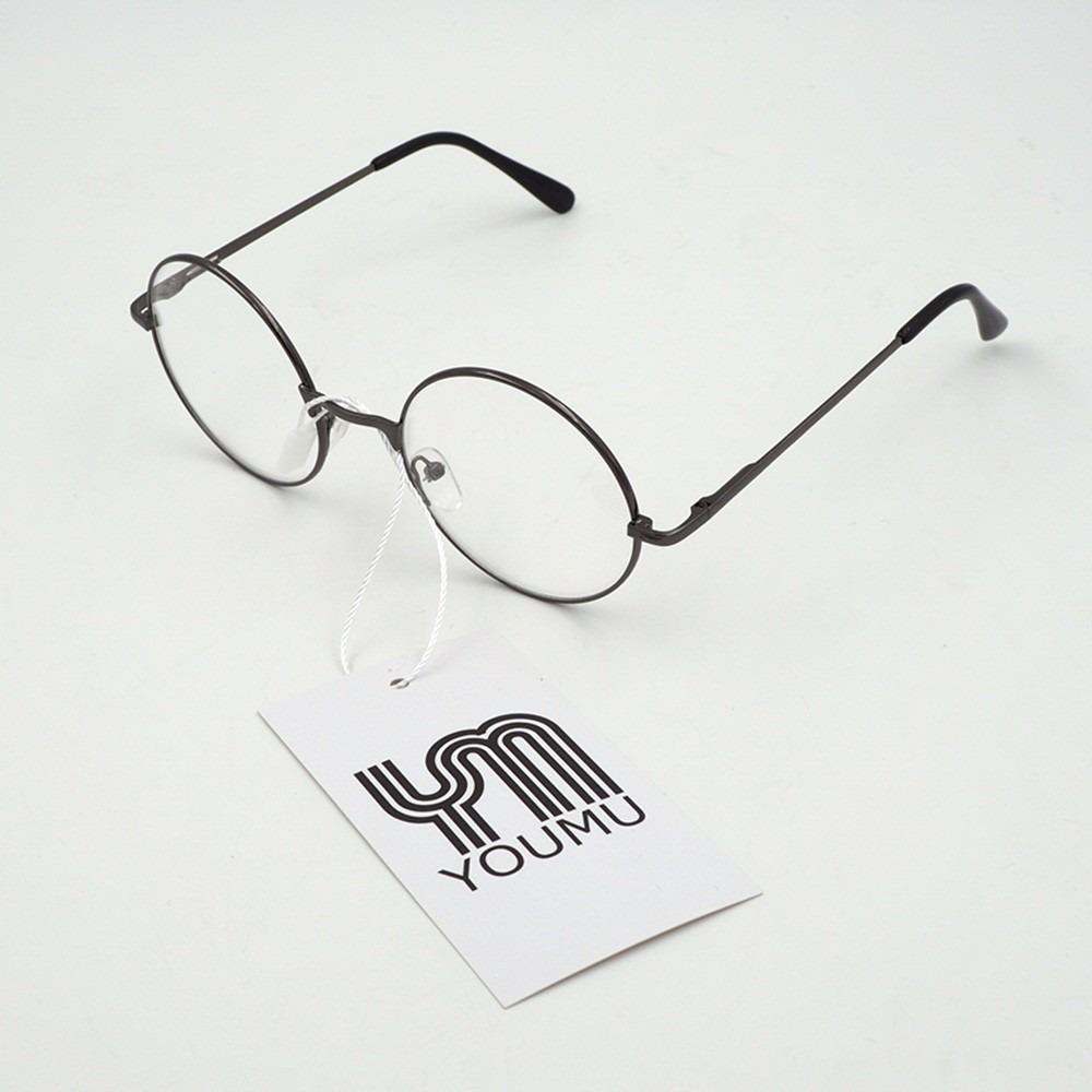 ae4d5e2c41195 armação óculos de grau redonda retro feminina masculina geek. Carregando  zoom.
