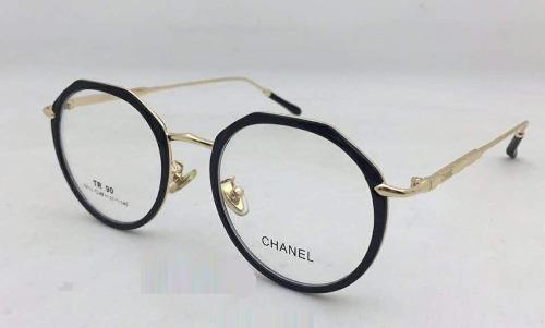 d723d47b2b969 Armação - Óculos De Grau Redondo - Chanel Ch10113 - R  120