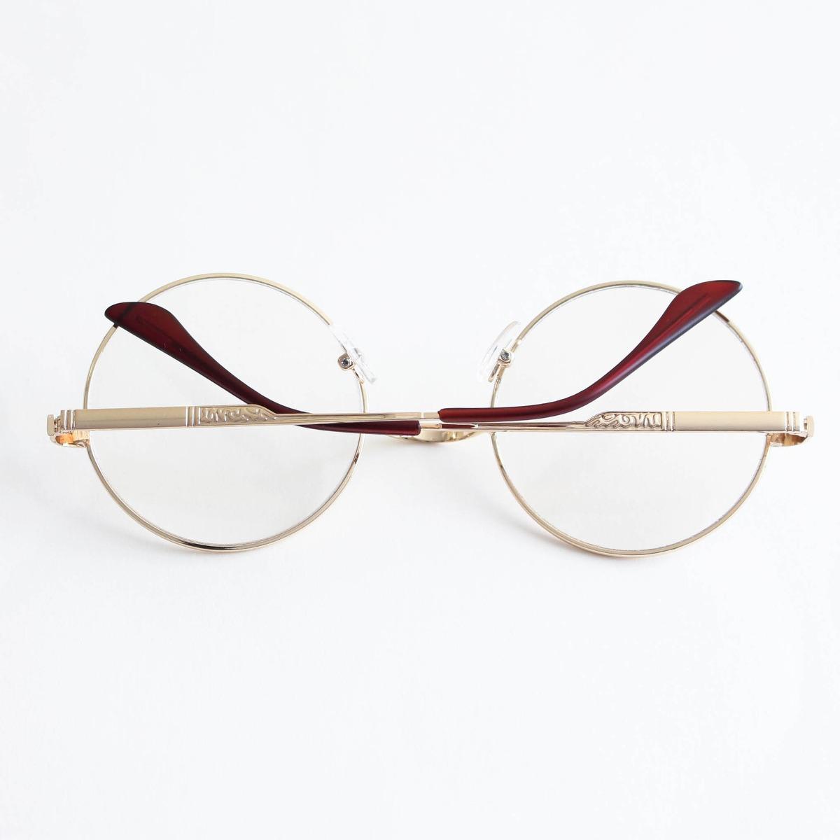 Armação Óculos De Grau Redondo Geek - R  69,00 em Mercado Livre 6c232e0867