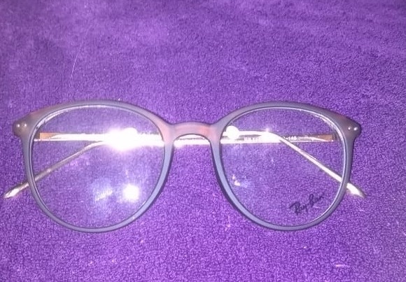 95d048cec01c5 Armação Óculos De Grau Redondo Geek Ray Ban Metal Acetato - R  145 ...