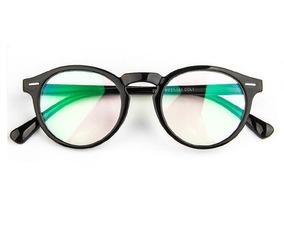 728f5892e Oculos De Grau Masculino Redondo Acetato - Óculos no Mercado Livre ...